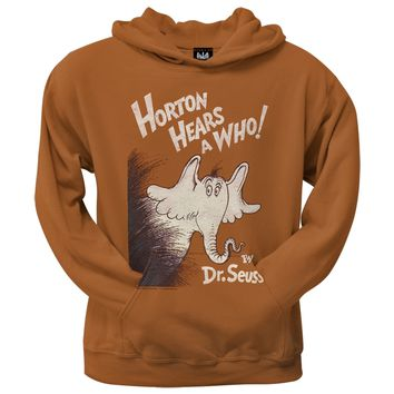 Dr. Seuss - Horton Cover Distressed Hoodie