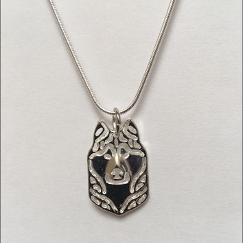 Husky Charm Necklace