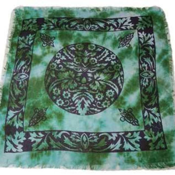 Green Man Altar Cloth *new Design*