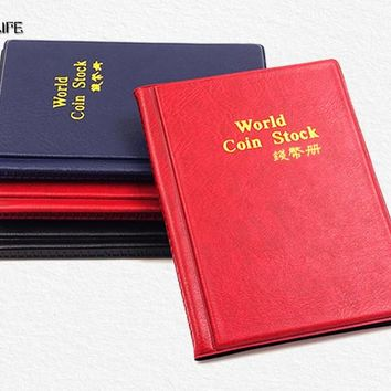 5pcs 120 Coins Collection Storage Album Mini Penny Pockets Money Album Book Collecting Coin Holders Collector Gifts Coin Album
