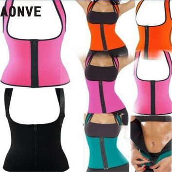 Modeling Strap Thermo Shapers Weight Loss Vest Body Shaper Hot Shaper Waist Trainer Neoprene Waist  Slimming Underwear