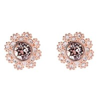 Ted Baker London Crystal Daisy Lace Stud Earrings | Nordstrom