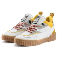 PUMA X Sue Tsai Cali fashionable neutral retro platform shoes with patchwork color