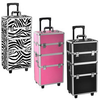 Professional 2 in 1 Makeup Beauty Case Cosmetics Technician Case Trolley [8096937927]