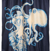 ModCloth Nautical Underwater Introduction Shower Curtain