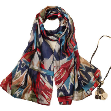 Hijab from India scarf luxury brand women scarves soft chiffon blanket