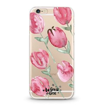 Roses Clear Case