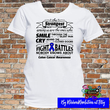 Colon Cancer Strongest Among Us T-Shirt