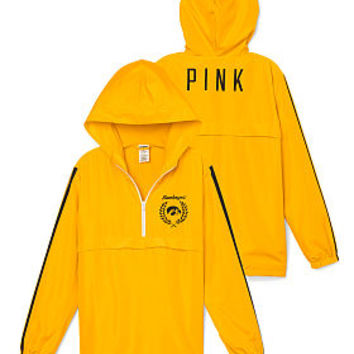 Half-Zip Windbreaker - PINK - Victoria's Secret