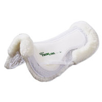 ThinLine Sheepskin Comfort Half Pad - Tailored Sportsman from SmartPak Equine