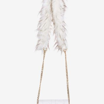 Tell It to My Heart Crossbody Bag - White