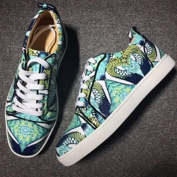 Cl Christian Louboutin Style #2025 Sneakers Fashion Shoes