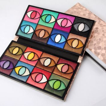 MISS ROSE 80 Colors Eye Shadow [11600063308]