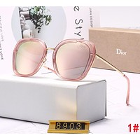DIOR Summer Stylish Women Men Fashion Shades Eyeglasses Glasses Sunglasses 1#