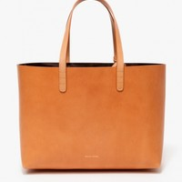 Mansur Gavriel / Small Tote In Camello/Graffite