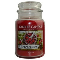YANKEE CANDLE RED RASPBERRY SCENTED LARGE JAR 22 OZ UNISEX