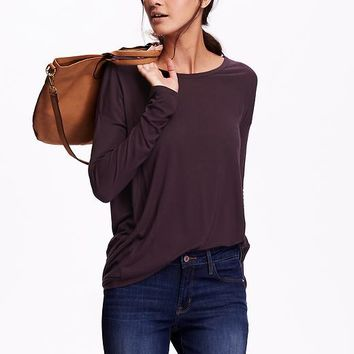 Old Navy Supersoft Cocoon Tunic Top