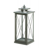 Large Railroad Crossing Candle Lantern