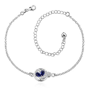 Water Drop Charm Anklet