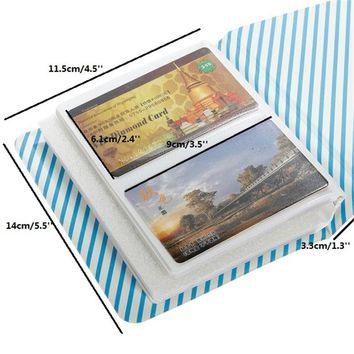 64 Pockets Mini Film Instax Polaroid Album Photo Storage Case Size Fashion Home Friends Families Saving Memory Souvenir