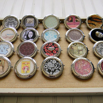 Wholesale Accessories, Handmade Wholesale Accessories, Wholesale Compact Mirrors, Compact Mirrors, Mirror Compact, Purse Mirror, Bridesmaids