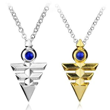 Pyramid Egyptian Eye Of Horus Necklace
