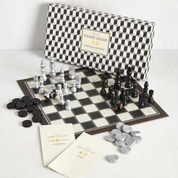 20s Strategy for Glee Chess and Checkers Set by ModCloth