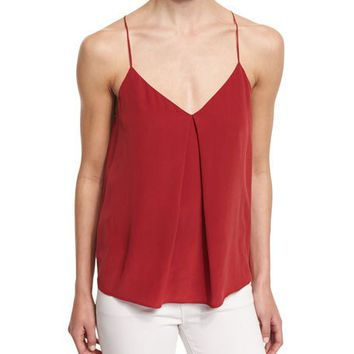 Joie Nahlah B Sleeveless Silk Top