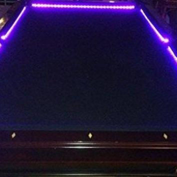 OCTANE LIGHTING Bar Billiard Pool Table Bumper Led Rgb Color Changing Lights Remote