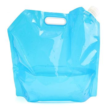 NEW Safurance Outdoor 10L Collapsible Camping Emergency Survival Water Storage Carrier Bag Supply Emergency Kit Safety