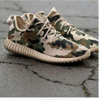 """LoveQ168 """"Adidas"""" Women Yeezy Boost Sneakers Running Sports Shoes SPYL-350 Camouflage"""