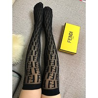 Fendi Black Socks