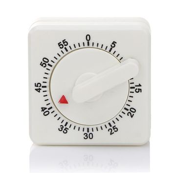 60-Minute Mechanical Timer Reminder Counting Count Down Alarm Clock For Kitchen Accessiories