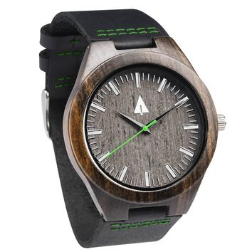 Wooden Watch // Theo Green