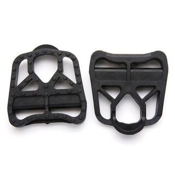 High Quality PA6 Black LOOK KEO Pedal Systems Road Bike Self-locking Pedal LOOK KEO Lock Stepping Flat Pedal Lock Plate Cleat