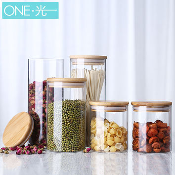 Cylinder Shaped Candy Jars for Sweets Storage, Candy Buffet, Candy Station - Asst. Sizes