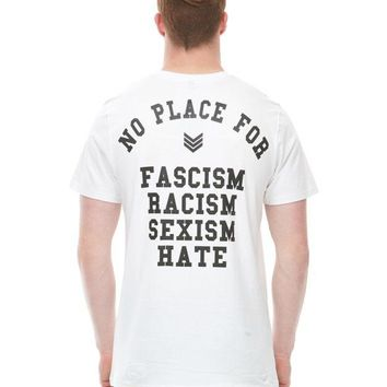 No Place for Tee – White