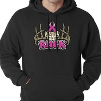 Save The Rack Breast Cancer Awareness Hoodie Sweatshirt