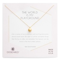 Dogeared World Is My Playground Pendant Necklace | Nordstrom