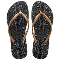 Havaianas Slim Animals Sandals - Olive Green
