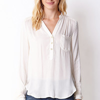 Essential Semi-Sheer Georgette Top