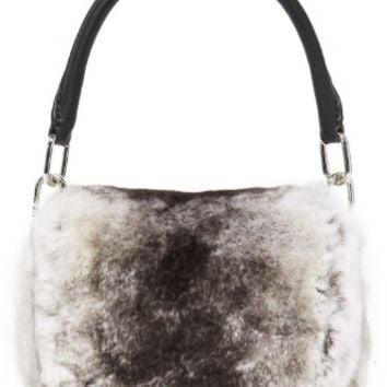 Mini Rex Fur Shoulder Bag