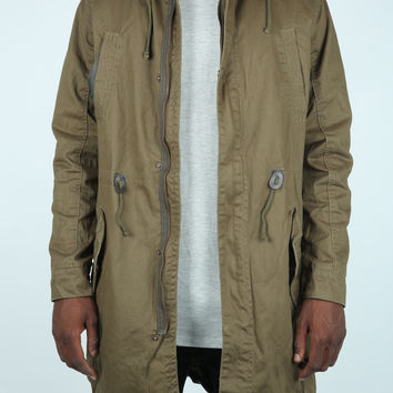 The Woodley Padded Parka in Olive
