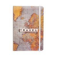 "Sylvia Cook ""Travel Map"" World Everything Notebook"