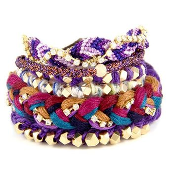 Grape Bracelet Stack