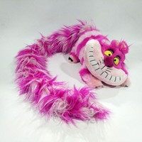 Alice in Wonderland Cheshire Cat Plush Toy Long Tail Edition Cute Soft Toys for Children Kids Girls Christmas Gifts