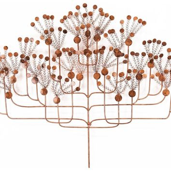 Silhouette Contemporary Wall Sculpture by Metal Perspectives