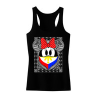 Tribal Bandana Philippines Racer Back Tank