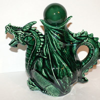 Emerald Dragon Tea Pot