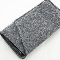 Felt Samsung galaxy SIII s3 SIV S4 sleeve pouch cover case wallet with card holder